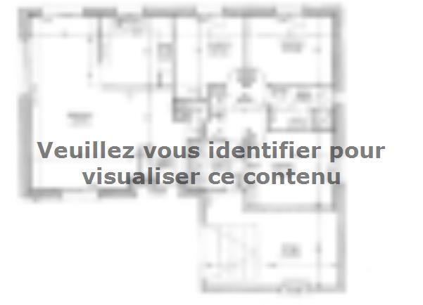 Plan de maison PLP_L_GI_93m2_3ch_P13321 : Vignette 1