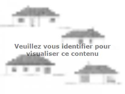 Plan de maison PLP_L_GI_93m2_3ch_P13321 3 chambres  : Photo 2