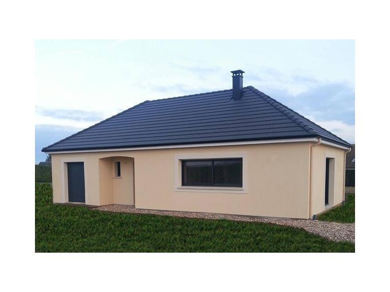 Modèle de maison PLP_L_SG_135m2_4ch_P13847 : Vignette 1