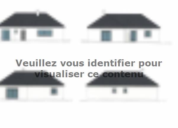 Plan de maison PLP_L_SG_135m2_4ch_P13847 : Vignette 2