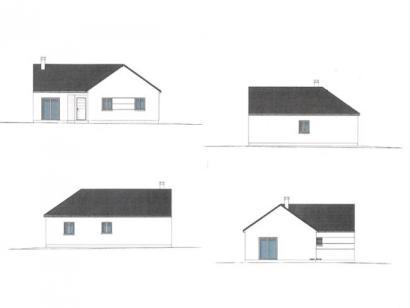 Plan de maison PLP_L_SG_94m2_4ch_P13265 4 chambres  : Photo 2