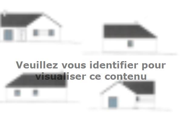 Plan de maison PLP_L_SG_94m2_4ch_P13265 : Vignette 2