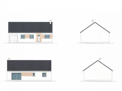 Plan de maison PLP_R_GI_84m2_3ch_P2721 3 chambres  : Photo 1