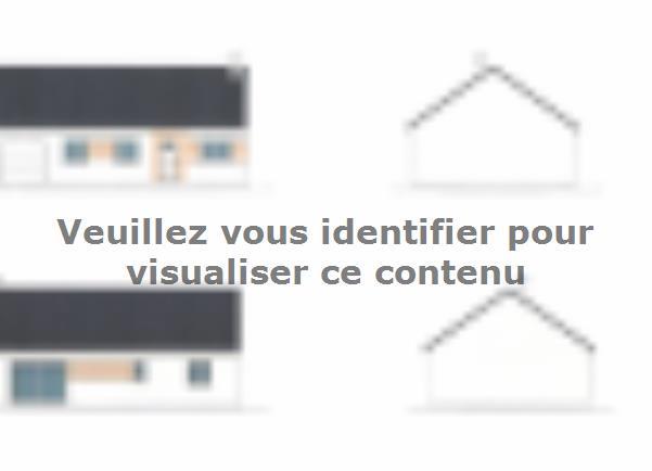 Plan de maison PLP_R_GI_84m2_3ch_P2721 : Vignette 1