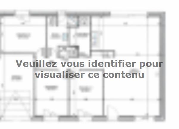 Plan de maison PLP_R_GI_84m2_3ch_P2721 : Vignette 2