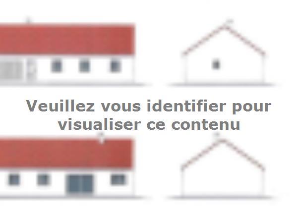 Plan de maison PLP_R_GI_97m2_4ch_P12885 : Vignette 2