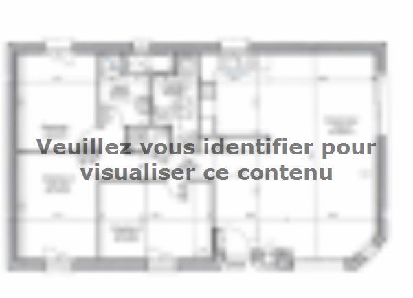 Plan de maison PLP_R_SG_83m2_3ch_P13214 : Vignette 2