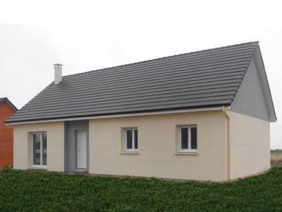 Modèle de maison PLP_R_SG_90m2_3ch_P13319 3 chambres  : Photo 1