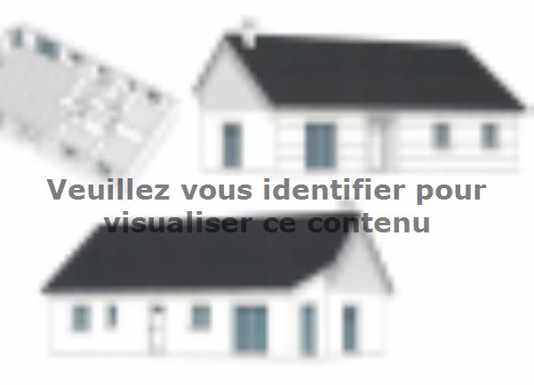 Plan de maison PLP_R_SG_90m2_3ch_P13319 : Vignette 1