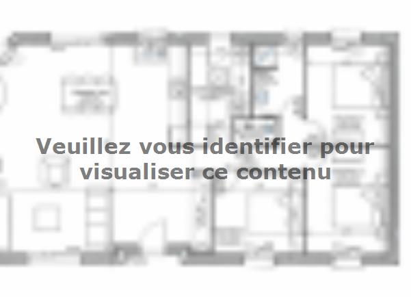 Plan de maison PLP_R_SG_90m2_3ch_P13319 : Vignette 2