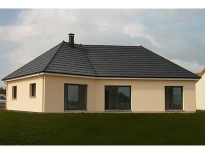 Modèle de maison PLP_V_GA_120m2_4ch_P13266 4 chambres  : Photo 1