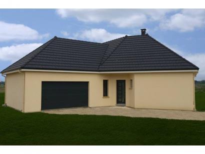 Modèle de maison PLP_V_GA_120m2_4ch_P13266 4 chambres  : Photo 2