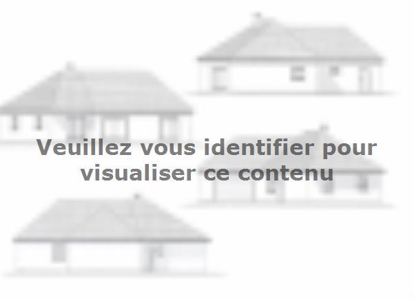 Plan de maison PLP_V_GA_120m2_4ch_P13266 : Vignette 1