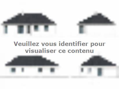 Plan de maison PLP_V_SG_97m2_3ch_P13507 3 chambres  : Photo 1