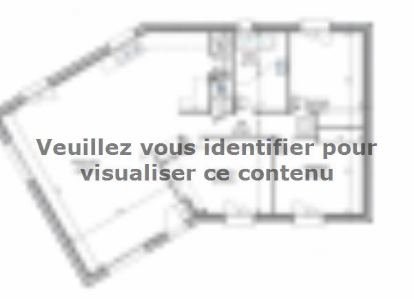 Plan de maison PLP_V_SG_97m2_3ch_P13507 : Vignette 2